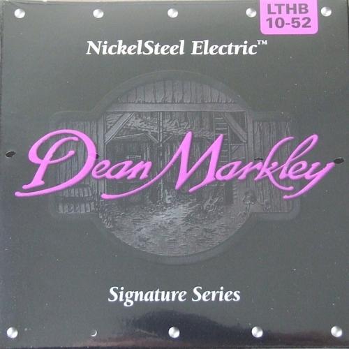 Струны для электрогитары DEAN MARKLEY NICKELSTEEL ELECTRIC 2504 LTHB #1 - фото 1