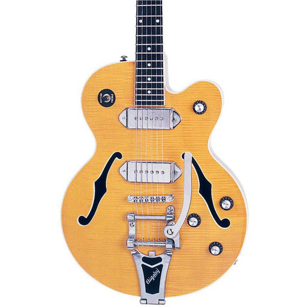 Epiphone WILDKAT ANT. NATURAL CH HDWE W/BIGSBY  - фото 1
