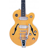 Epiphone WILDKAT ANT. NATURAL CH HDWE W/BIGSBY