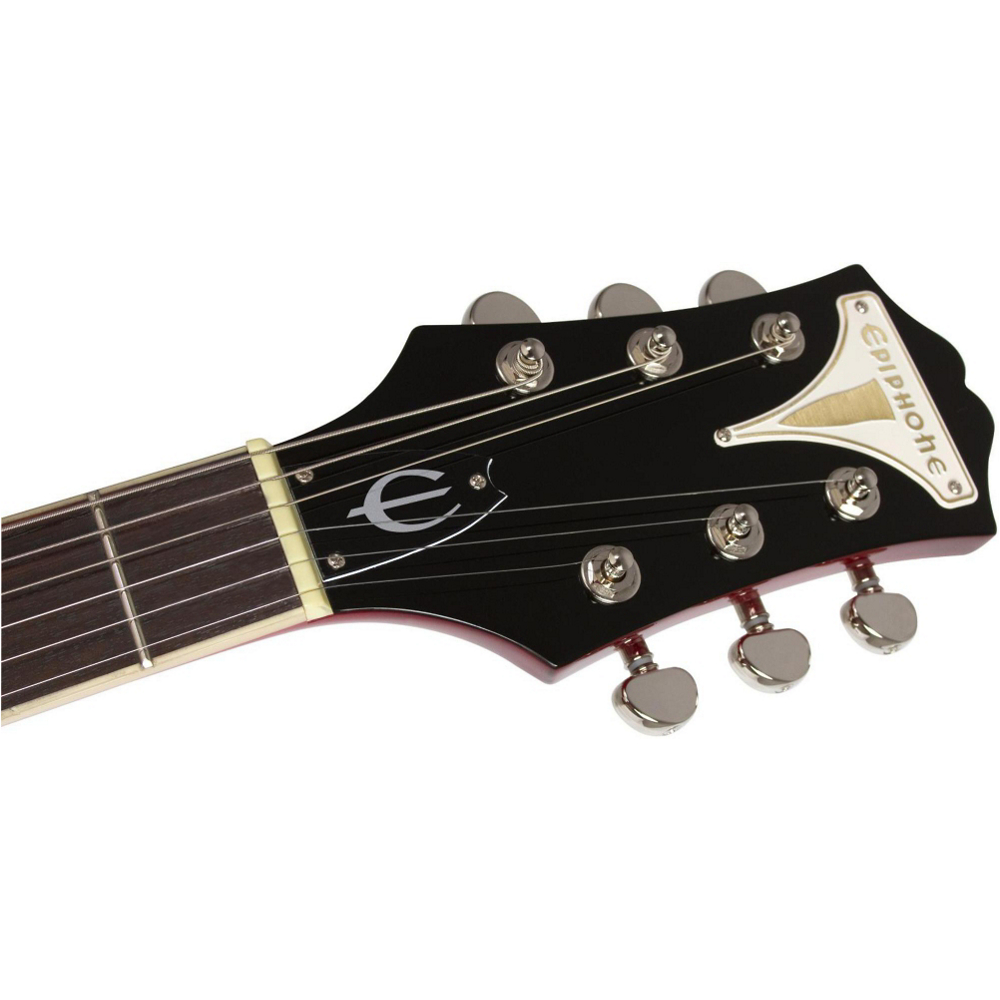 Epiphone WILDKAT ANT. NATURAL CH HDWE W/BIGSBY  - фото 4