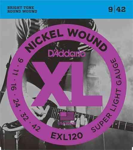 D`ADDARIO EXL120