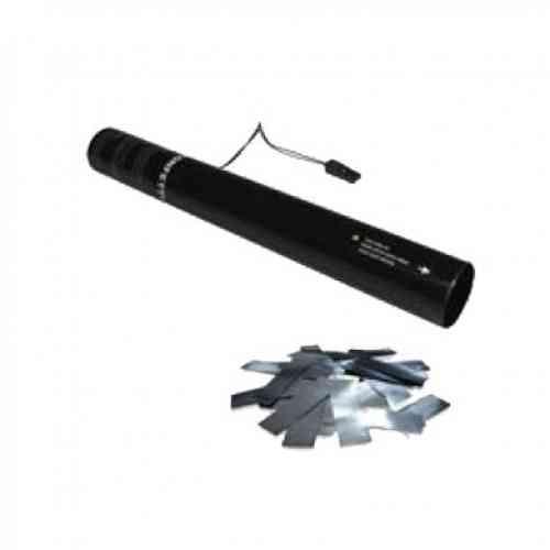 Global Effects  Одноразовый ствол для конфетти-пушки 40см Серебро