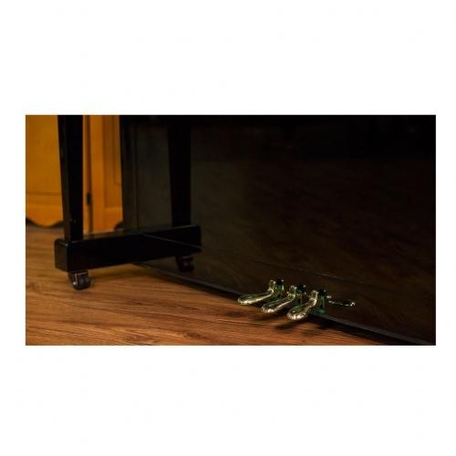 Акустическое пианино Weber W131 черное, полированное #10 - фото 10