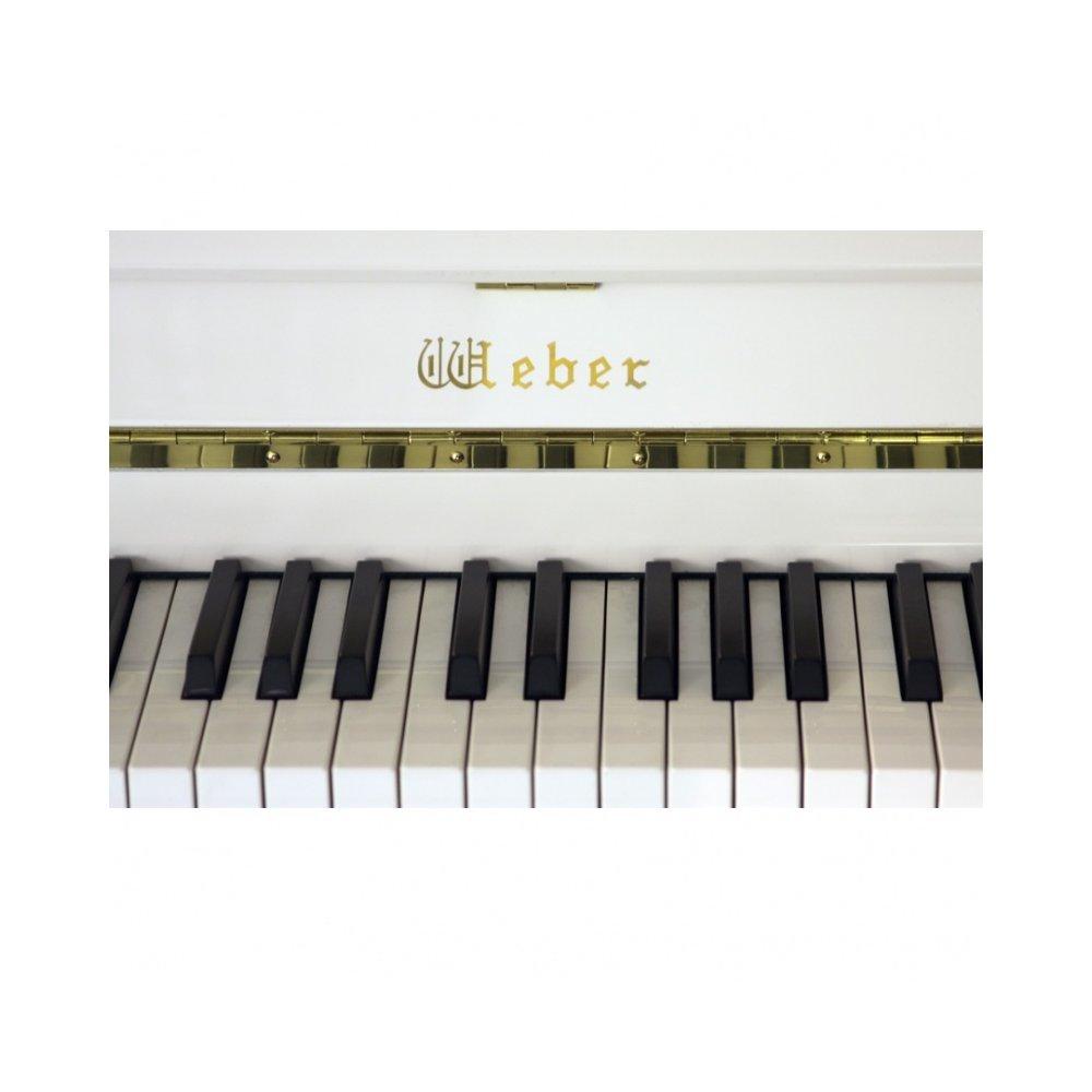 Weber W114 белое, полированное - фото 3