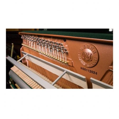 Акустическое пианино Weber W121 черное, полированное #1 - фото 1