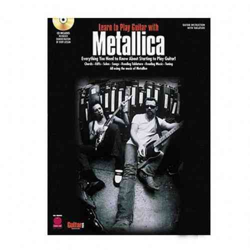 Hal Leonard 2500138 LEARN TO PLAY GUITAR WITH METALLICA