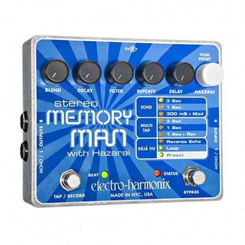 Electro-Harmonix Stereo Memory Man w/ Hazarai
