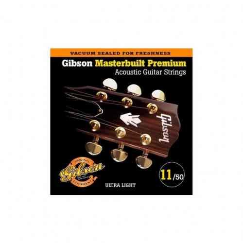 Gibson SAG-MB11 MASTERBUILT PHOSPHOR BR .011-.050