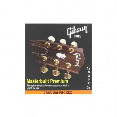 Gibson SAG-MB12 MASTERBUILT PHOSPHOR BR .012-.052