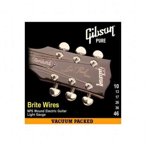 Gibson SEG-700L BRITE WIRES NPS WOUND .010-.046