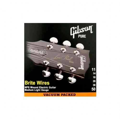 Gibson SEG-700ML BRITE WIRES NPS WOUND .011-.050