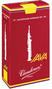 Vandoren Java Red Cut filed №2 SR302R (10шт) - фото 1