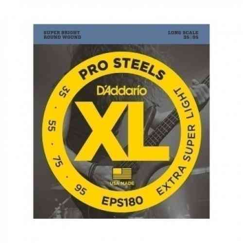 D`Addario EPS180 PROSTEELS BASS EXTRA SUPER LIGHT