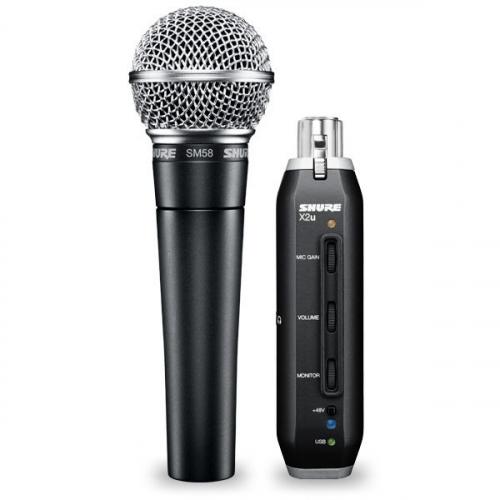 Вокальный микрофон SHURE SM58-X2U #1 - фото 1
