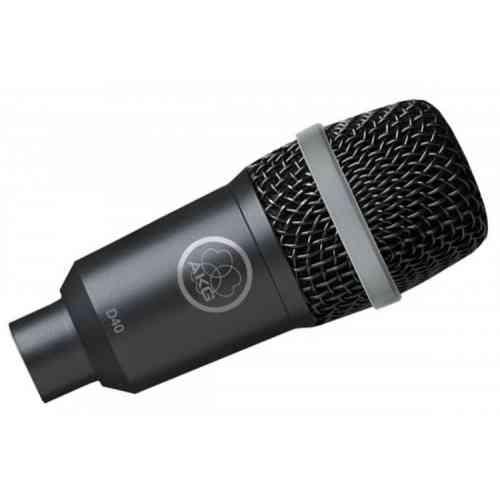 Инструментальный микрофон AKG D40 #1 - фото 1