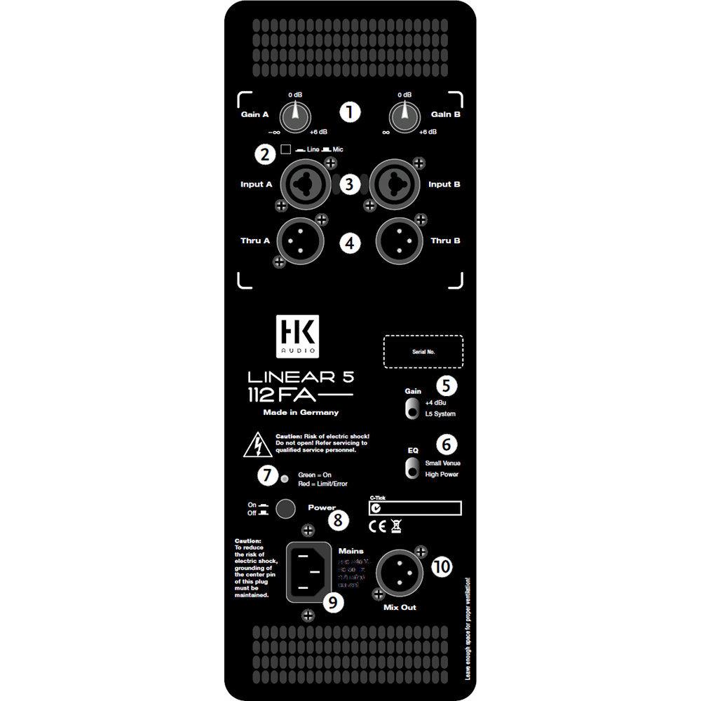 HK Audio L5 112 FA - фото 3