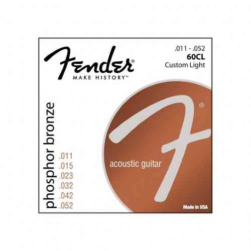 Fender STRINGS NEW ACOUSTIC 60CL PH0S BRONZE 11-52