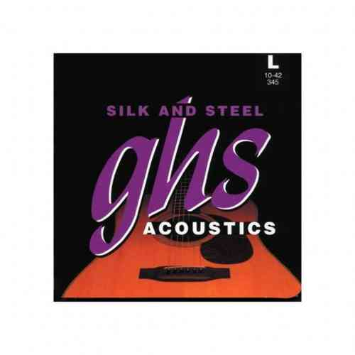 GHS STRINGS 345 SILK&STEEL