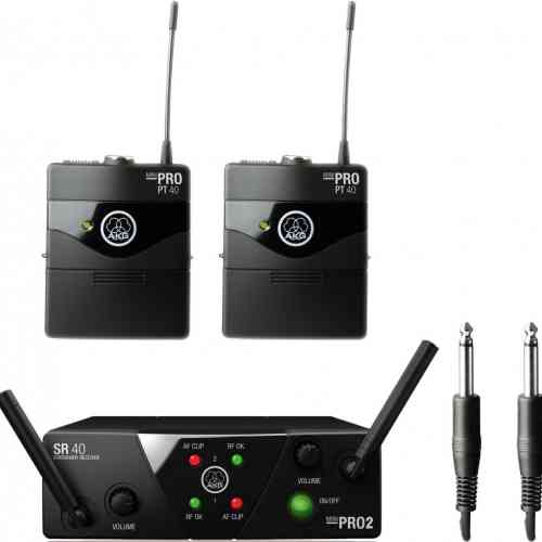 Инструментальная Радиосистема AKG WMS 40 MINI2 INSTRUMENTAL US45A/C  #1 - фото 1