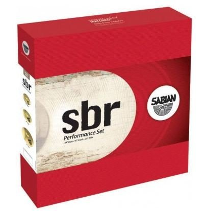 Sabian SBR Performance Set (14`` Hi-hats, 16`` Crash 20`` Ride) - фото 1