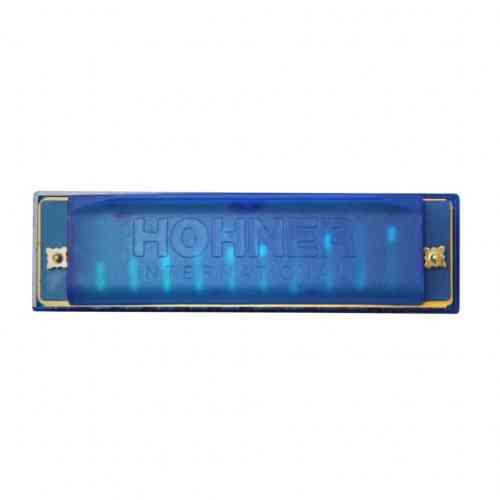 Диатоническая губная гармошка Hohner HAPPY BLUE #3 - фото 3