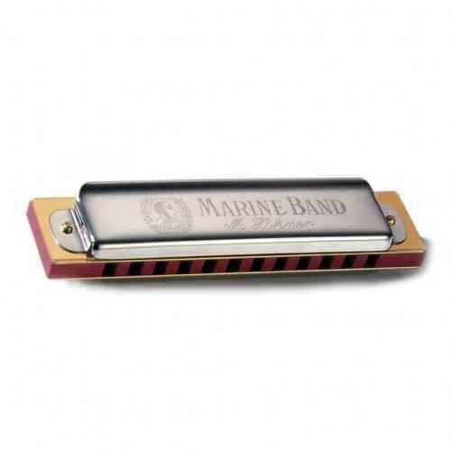 Диатоническая губная гармошка HOHNER MARINE BAND 364/24 C #1 - фото 1