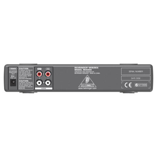 Звуковой процессор BEHRINGER MIX800 #2 - фото 2