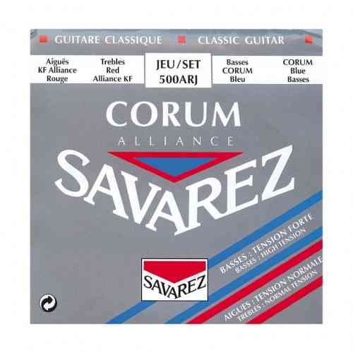 Savarez 500ARJ Corum Alliance Red/ Blue Medium-High Tension