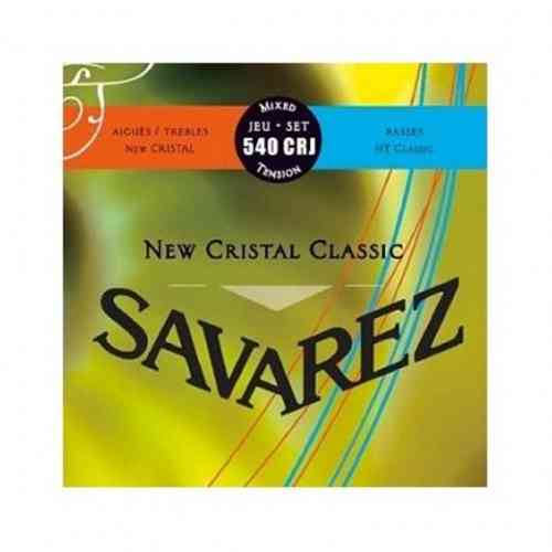 Savarez 540CRJ New Cristal Classic Red/ Blue medium-high tension
