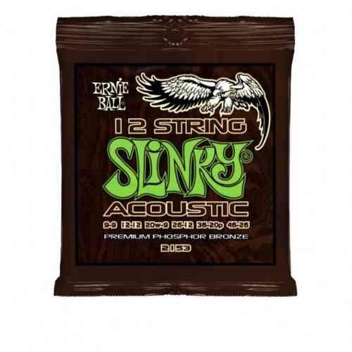 Струны для акустической гитары Ernie Ball 2153 #1 - фото 1