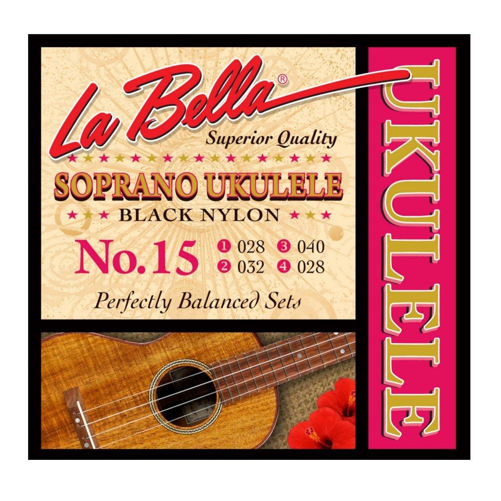 La Bella 15 Ukulele - фото 1