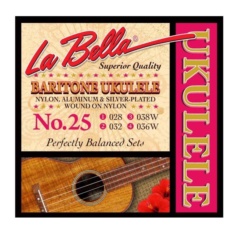 La Bella Ukulele Baritone 25 - фото 1