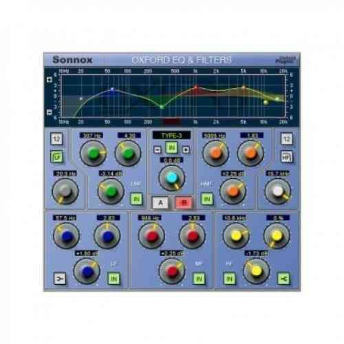 Sonnox Oxford Plugins EQ TDM to HD-HDX Upgrade