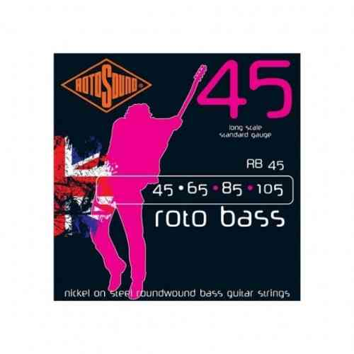 Rotosound RB45 Nickel (Unsilked) 45 65 85 105