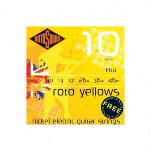 Rotosound RH10 Strings Nickel Light Top/Heavy Bottom