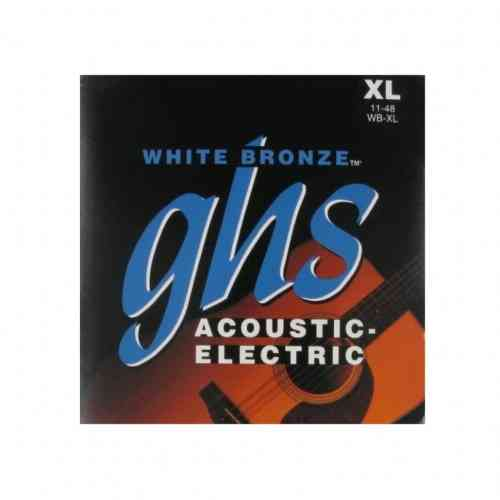 GHS Strings WB-XL White Bronze 11-48