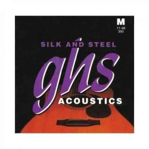 GHS Strings 350 Silk&Steel™ 11-48