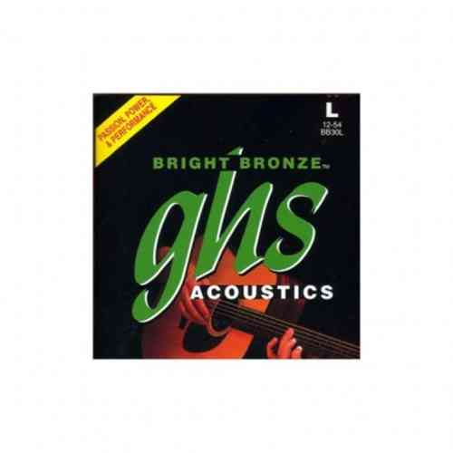 GHS Strings BB30L Bright Bronze 12-54