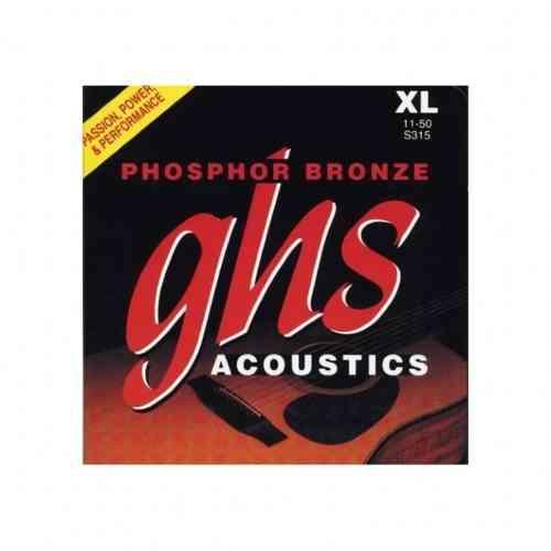 GHS Strings S315 Phosphor Bronze 11-50