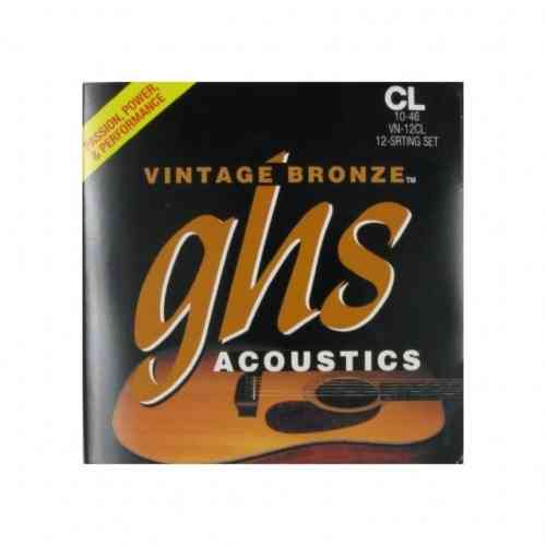 GHS Strings VN-12CL Vintage Bronze 10/10-46/24
