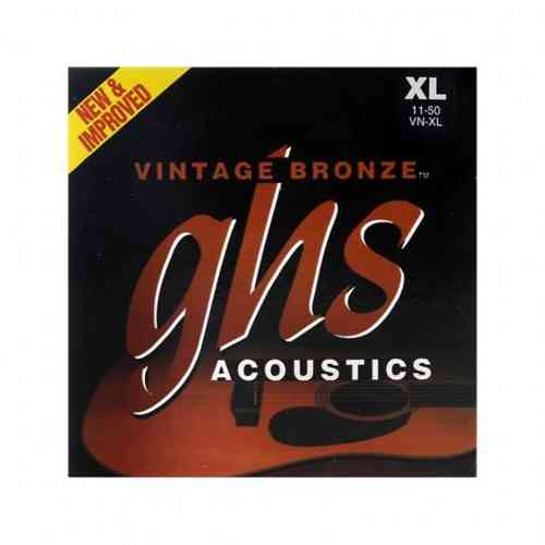 GHS Strings VN-XL Vintage Bronze 11-50