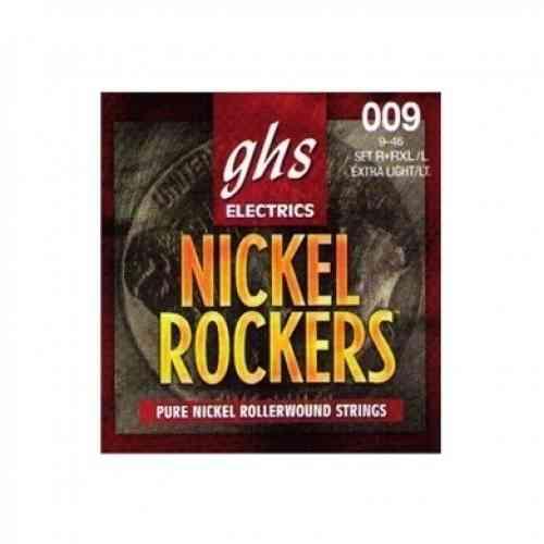 GHS Strings R+RXL/L Nickel Rockers 09-46