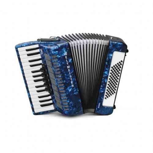 Weltmeister Juwel 30/72/III/5 Small Keys Blue Marbled
