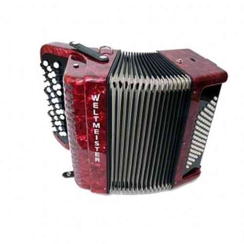 Weltmeister Romance 874 87/120/IV/11/5 Red Marbled Italian Reeds