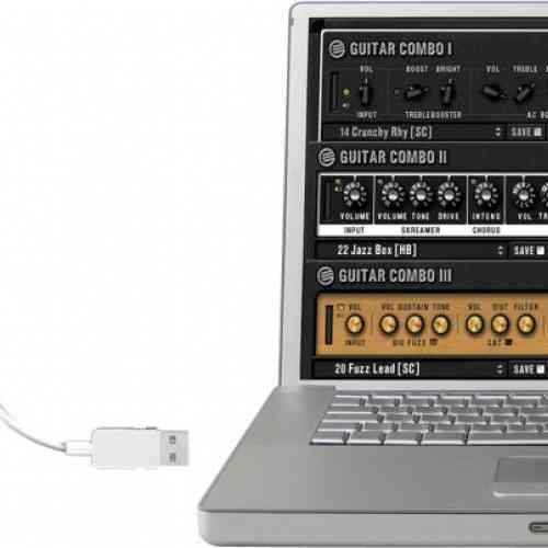 Звуковая карта USB-аудиоинтерфейс BEHRINGER UCG102 #2 - фото 2