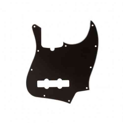 Fender Pickguard Standard Jazz Bass 10 Screw Holes Black