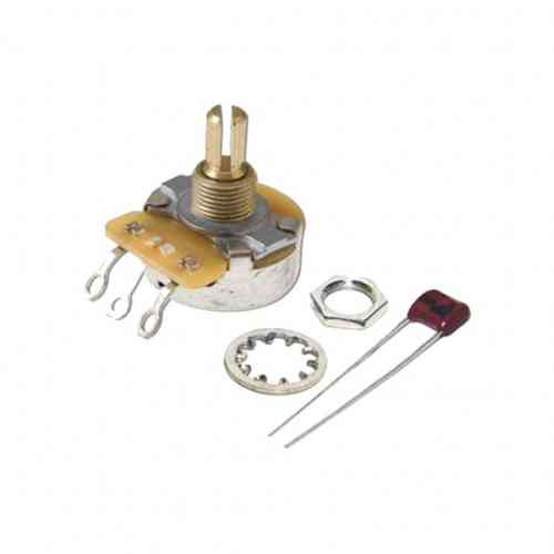 Fender Potentiometer T/V `No-Load` 250K Split Shaft - Strat (1)