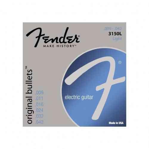 Fender Strings New Original Bullet 3150L Pure NKL Bullet End 9-42