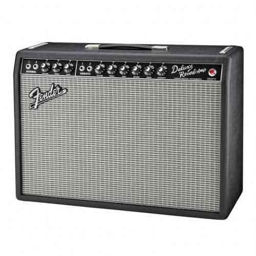 Fender `65 Deluxe Reverb 22 Watts/1-12` Jensen 7 Black Tolex