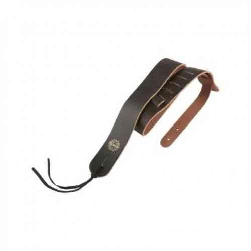 Dimarzio 2 Inch Decay Distressed Leather Strap Black DD3243 BK